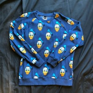 Disney Donald Duck crewneck